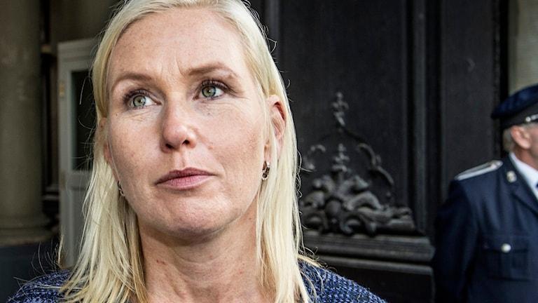 Infrastrukturminister Anna Johansson, S, Foto: Lars Pehrson/TT.