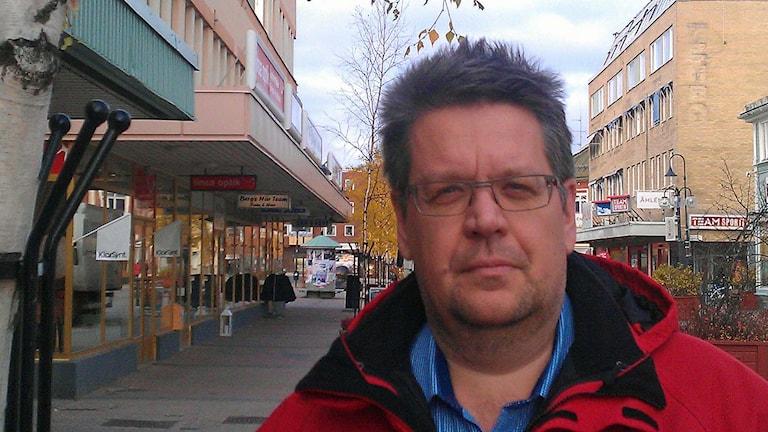 Håkan Nilsson på Kommunal i Skellefteå. Foto: Örjan Holmberg/Sveriges Radio
