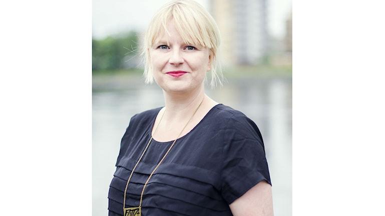 Ulrika Edman gruppledare för Vänsterpartiet i Umeå.