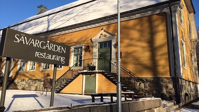 Sävargården i Umeå. Foto: Olov Antonsson/Sveriges Radio