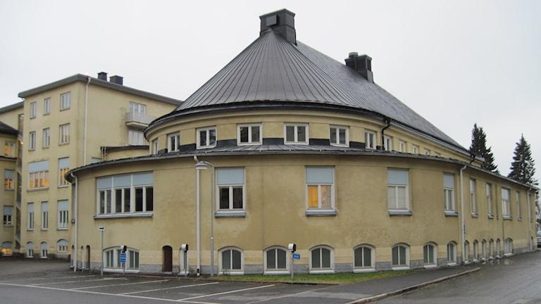 Rotundan vill landstinget riva. Foto: Agneta Johansson/Sveriges Radio
