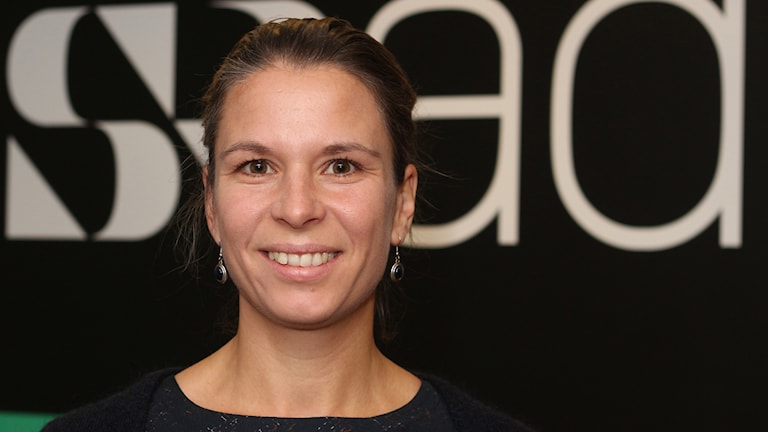 Caroline Mellberg, läkare NUS. Foto: Helena Ramfjord/Sveriges Radio