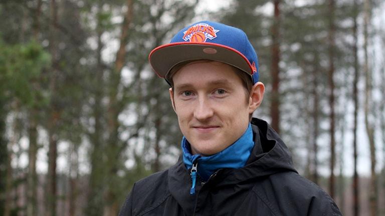 Joakim Silverdahl. Foto: Helena Ramfjord/Sveriges Radio