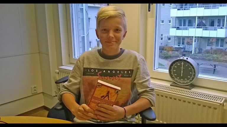 Olle Hedman med sitt tips Foto Åza Meijer SR