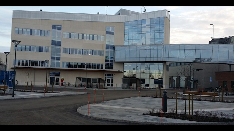 Nya polishuset i Umeå. Foto Kristina Milton/SR.