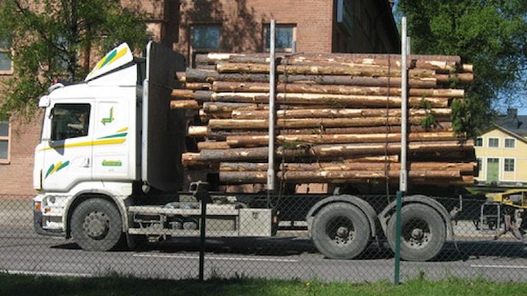 Lastbilar i hela landet kommer att stå stilla en kvart två gånger per dygn i protest Foto: Tommy Engman