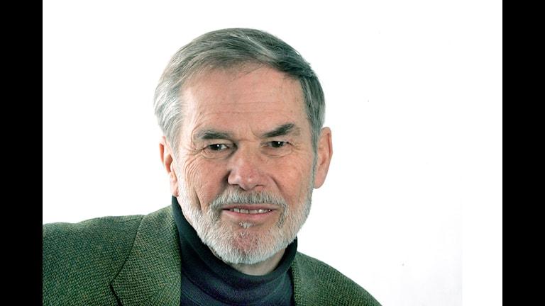 Kåre Rumar, forskare och expert på trafiksäkerhet och mörkerseende. Foto: Pressbild.