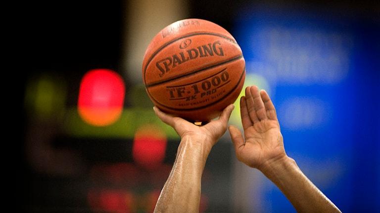 Basketboll, basket. Foto: Anders Wiklund/TT