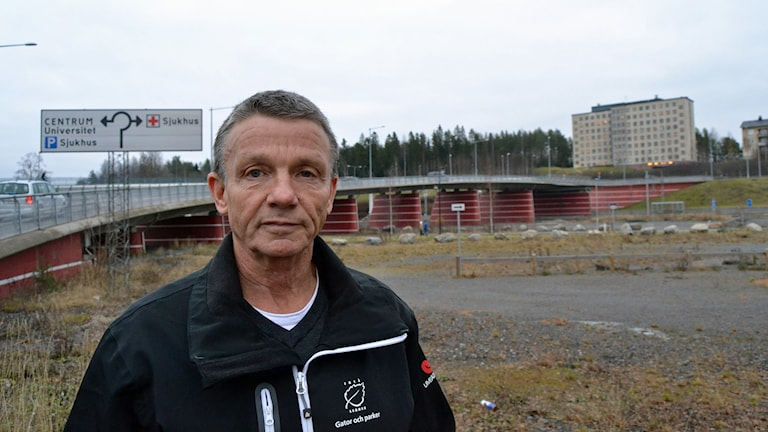 Torbjörn Sandberg, gatudriftchef i Umeå kommun. Foto: Lillemor Strömberg/Sveriges Radio.