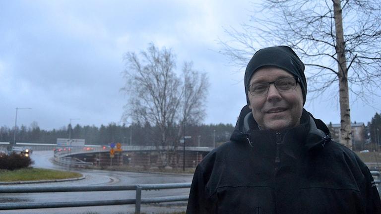 Umeås kollektivtrafikchef Fredrik Forssell. Foto: Lillemor Strömberg/Sveriges Radio.