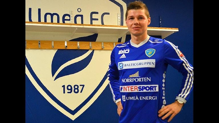 Radoslaw Erlich skrev igår på ett långtidskontrakt med Umeå FC. Foto Markus Wikström.