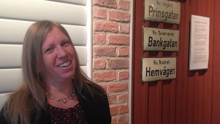 Åsa Stenström, etnolog på Västerbottens Länsmuseum Foto: Filippa Armstrong SR/Västerbotten