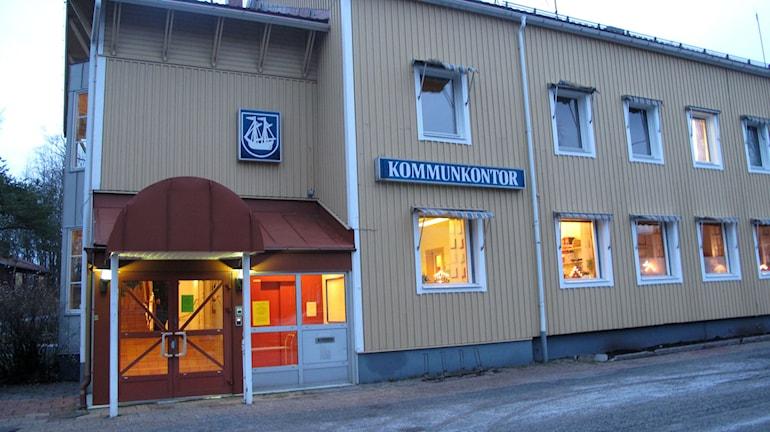 Kommunhuset i Holmsund, Foto: Anna Burén/SR.