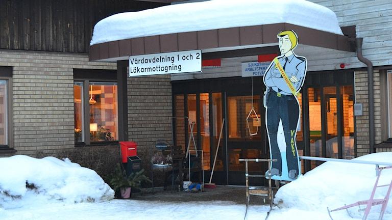 Sjukstugan i Dorotea. Foto: Olov Antonsson/Sveriges Radio