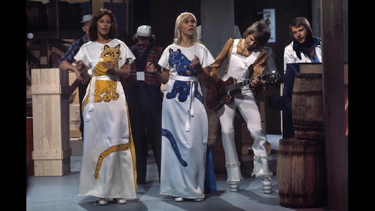 ABBA-låtar sjungs på bio i Umeå Foto: Kenneth Thorén/SVTbild