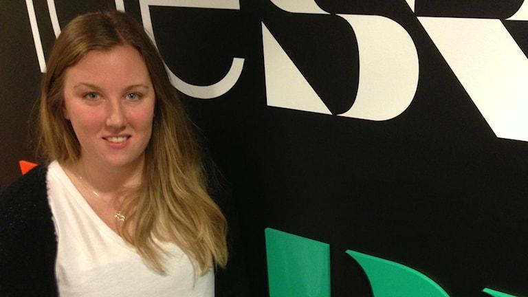 """Emilia Liljekvist har dragit igång """"En tia för en tenta"""" till Musikhjälpen. Foto: Erica Dahlgren/SR."""