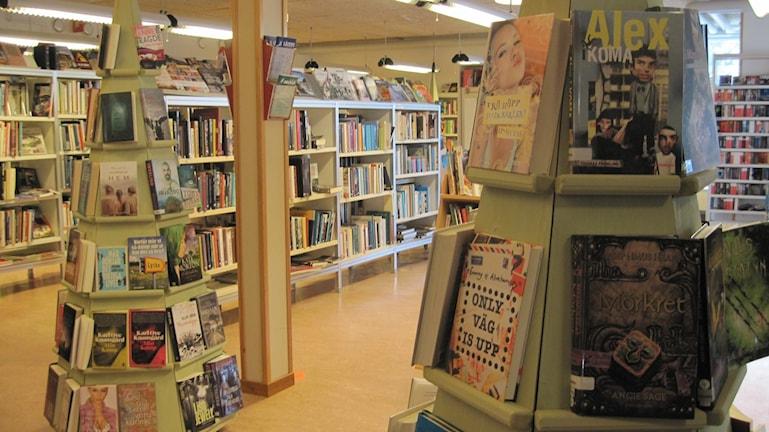 Biblioteket i Lövånger.  Foto: Åza Meijer/SR.