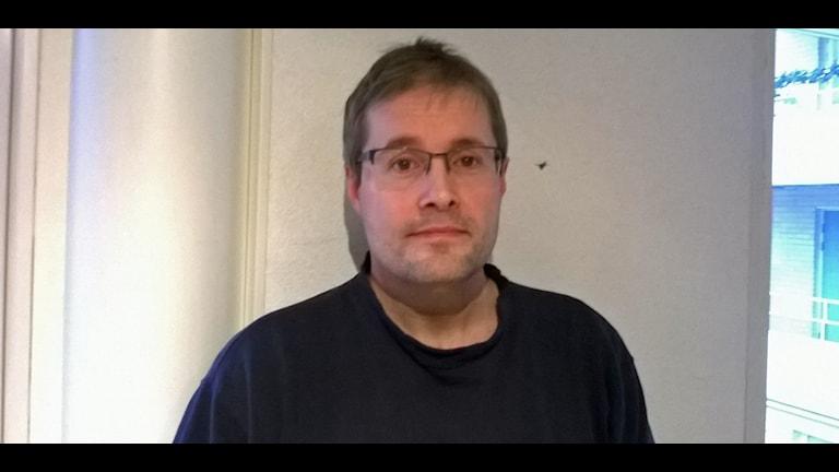 Peter Hedström budget och skuldrådgivare i Skellefteå Foto Åza Meijer
