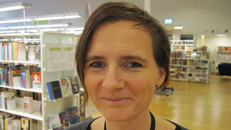 Hanne Eklund. Foto: Agneta Johansson Sveriges Radio