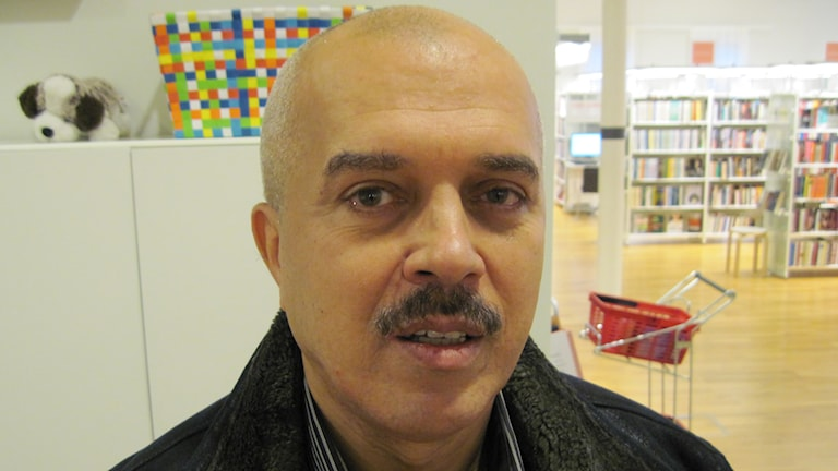 Mahmoud Shnino. Foto: Agneta Johansson Sveriges Radio