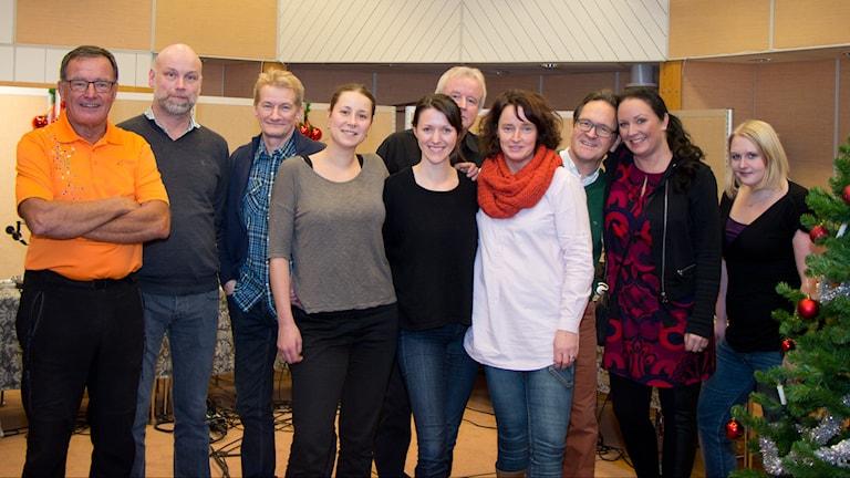 Rimstugan rimsmederna 2014. Foto: Helena Ramfjord/Sveriges Radio