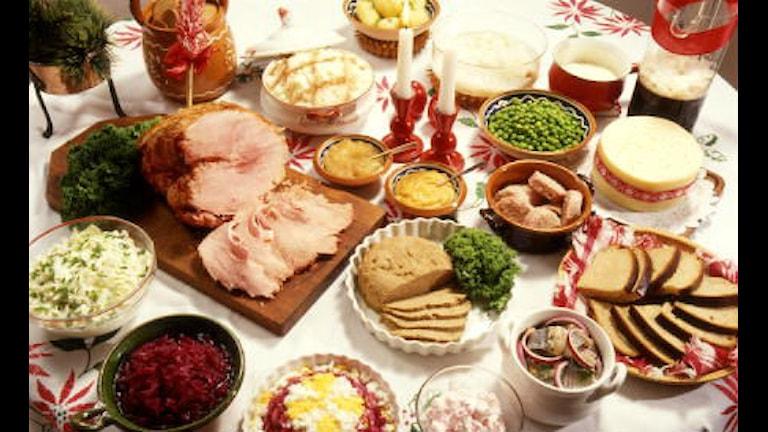 Julmaten är fet och svårsmält Foto: SVT/Bild