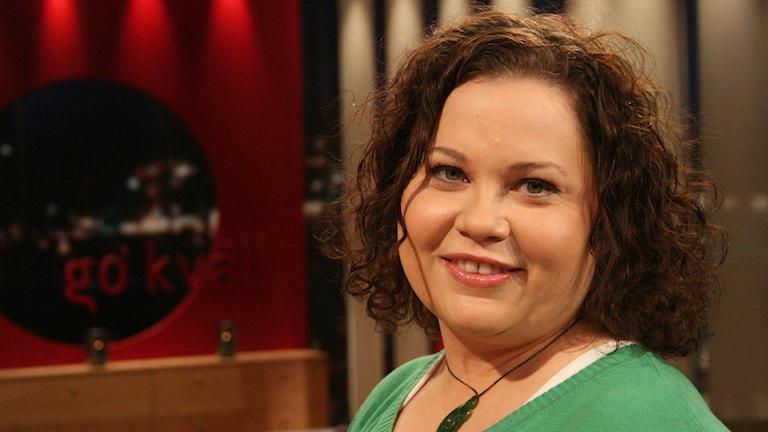 Tv-kocken Susanne Jonsson från Umeå. Foto: SVT Bild