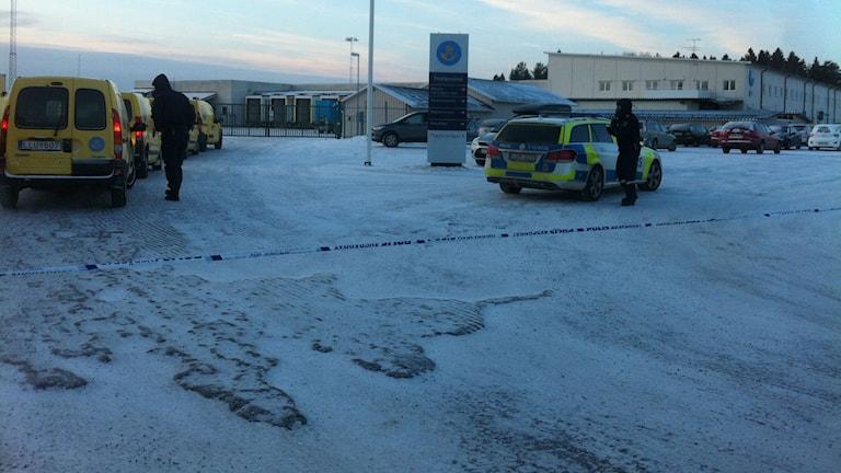 Postnords terminal i Umeå. Foto: Joakim Silverdal/Sveriges Radio
