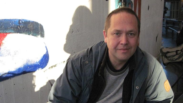 Magnus Hultin, programansvarig på läkarutbildningen vid Umeå universitet. Foto: Agneta Johansson/SR