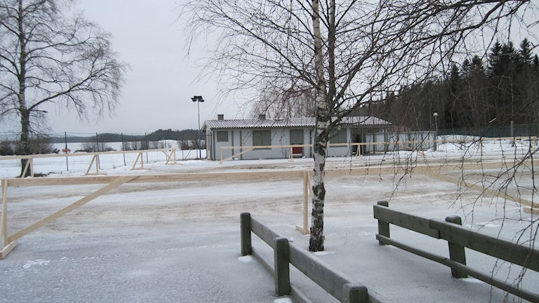 Här får husvagnarna stå. Foto: Agneta Johansson/SR