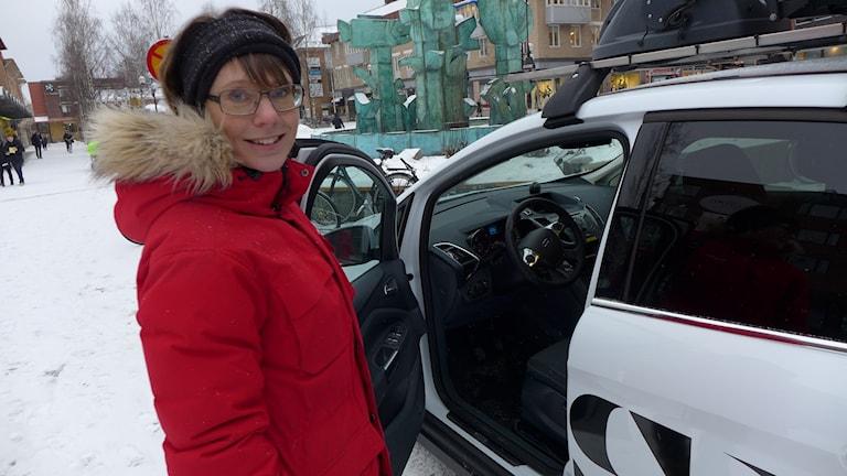 Anna Sävestad Albinsson, projektledare på Biofuel region i Umeå. Foto: Anders Wikström/Sveriges Radio.