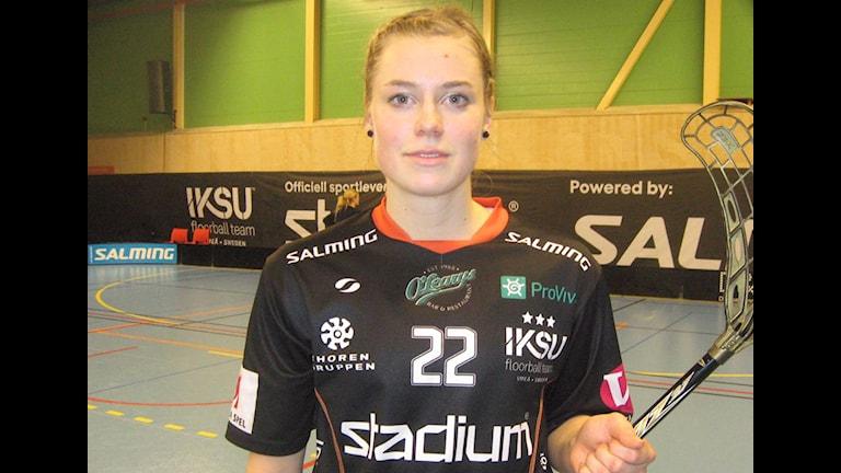 Victoria Wikström gjorde ett av Iksu:s tio mål.