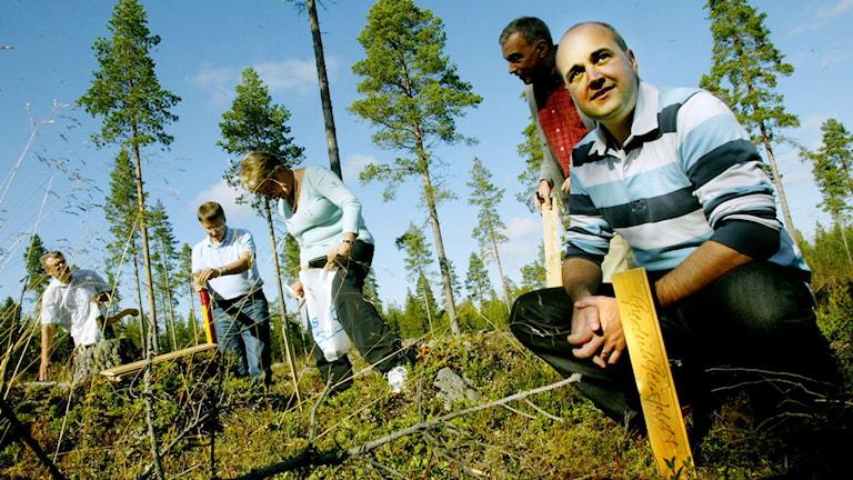 Partiledarupptakt i Högfors 2004. Foto: Foto: Sofie Wiklund/Scanpix