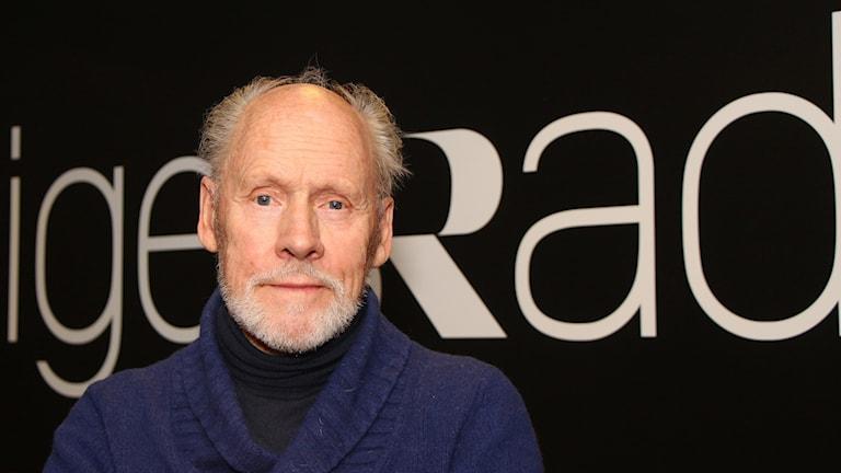 Helge Lannerbäck, sångare, skådespelare, röstpedagog och pensionär. Foto: Helena Ramfjord/Sveriges Radio.