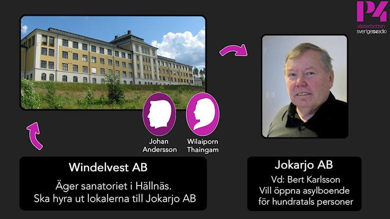 Bert Karlssons bolag Jokarjo samarbetar med personer som har kopplingar till bärskandaler, visar P4 Västerbottens granskning. Foto: SR/SVT