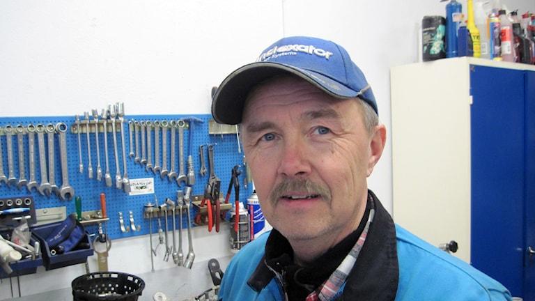 Leif Jonsson i Hällnäs. Foto: Agneta Johansson/ Sveriges Radio