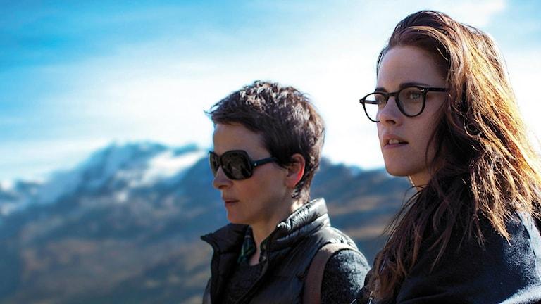 Juliette Binoche, Kristen Stewart, Moln över Sils Maria Foto: Pressbild
