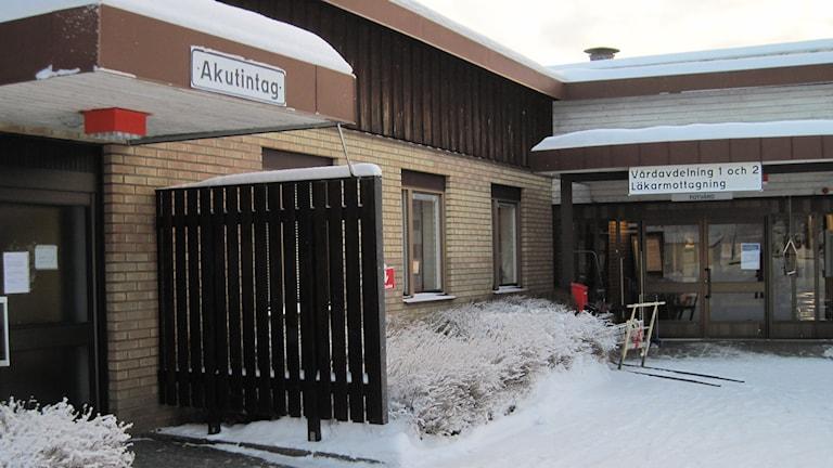 Sjukstugan i Dorotea. Foto: Agneta Johansson/Sveriges Radio