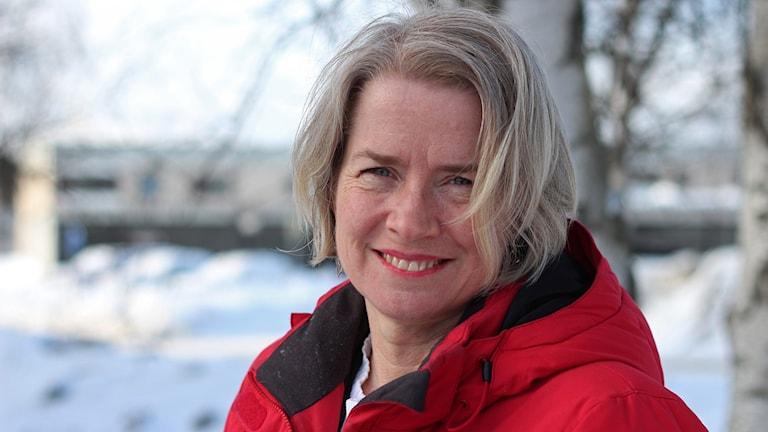 Pia Diaz Bergner. Foto: Helena Ramfjord/Sveriges Radio