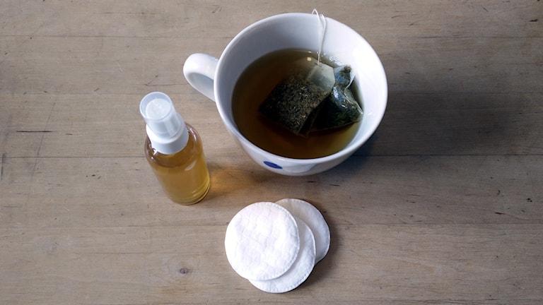 Ansiktsvatten-ingredienser