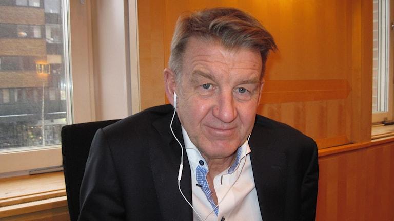 Anders Sylvan. Foto: Agneta Johansson/Sveriges Radio