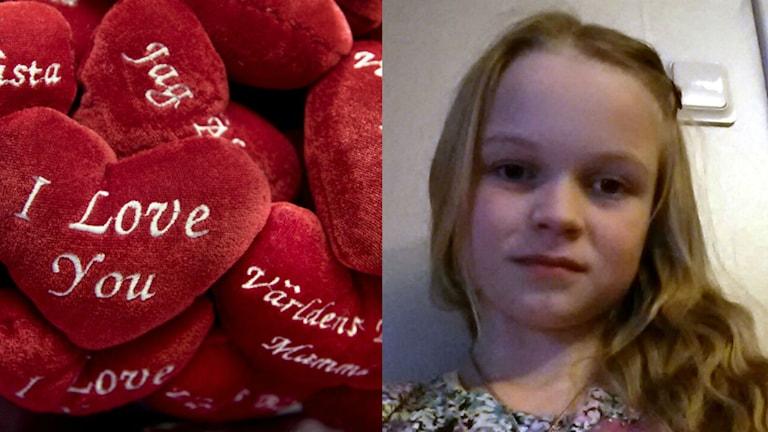 Emilia Nilsson gav sin syn på kärlek. Foto: TT/Privat