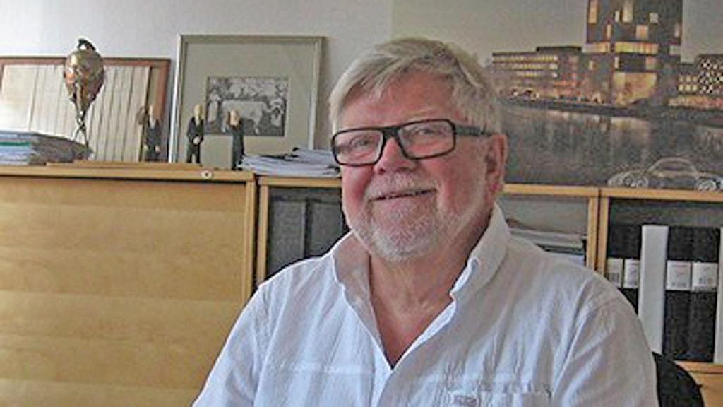 Balticgruppens ägare Krister Olsson. Foto: Cecilia Edström/SR