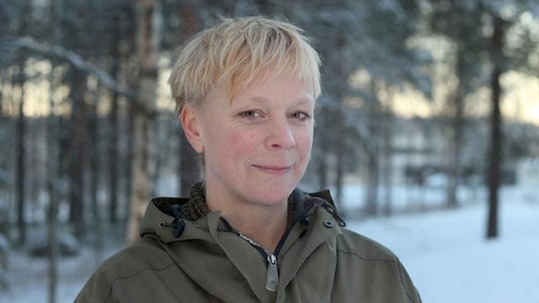 Anna Burén. Foto: Helena Andersson/Sveriges Radio