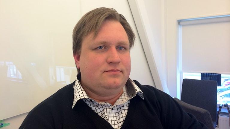 Andreas Lundgren, ordförande i individ- och familjenämnden i Umeå. Foto: Olov Antonsson