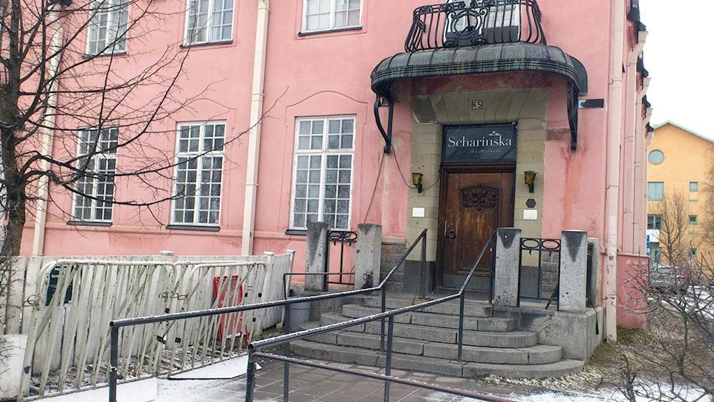Scharinska före renoveringen. Foto Tommy Engman/SR.