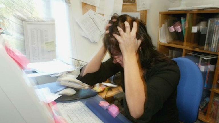Stress. Foto: TT