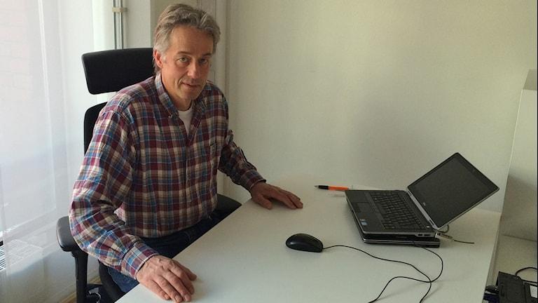 Lars Hedqvist Skellefteå Kommuns planeringschef