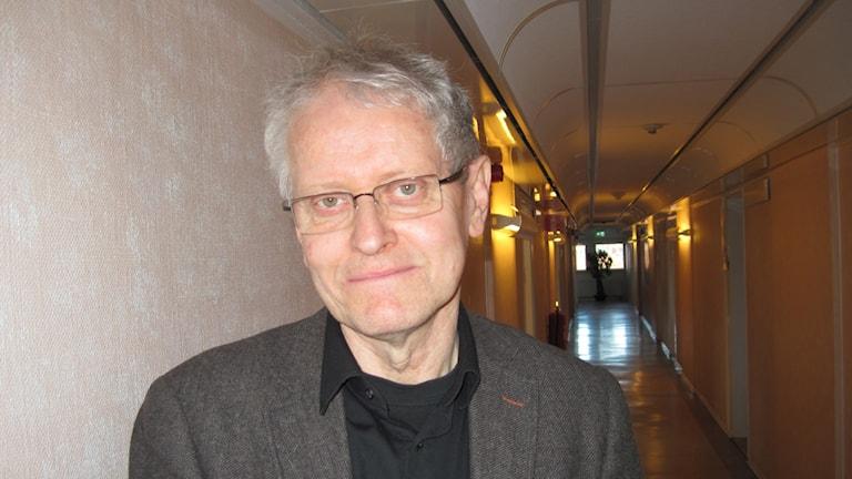 Lars G Brandt, integrationsdirektör i Västerbotten. Foto: Agneta Johansson/Sveriges Radio.