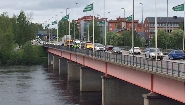 Tegsbron i Umeå. Foto Anders Wikström/SR.